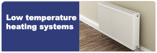 Low-temperature domestic heating systems